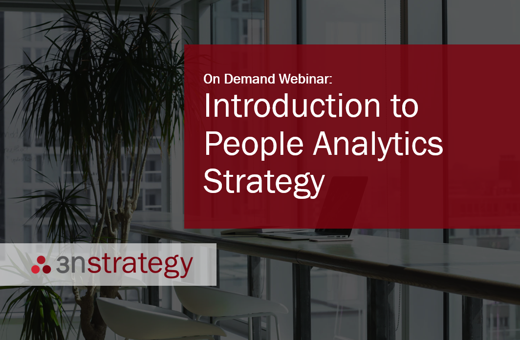 Introduction to People Analytics Strategy